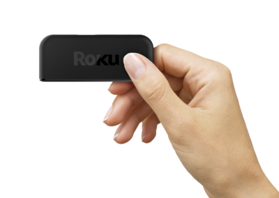 Roku Premiere+ 3921RW 4K HDR Streaming Media Player with Remote