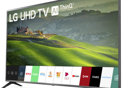 """LG 75"""" Class 4K (2160P) Ultra HD Smart LED HDR TV 75UM6970PUB 2019 Model"""