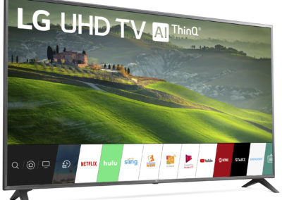 "LG 75"" Class 4K (2160P) Ultra HD Smart LED HDR TV 75UM6970PUB 2019 Model"