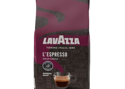 Lavazza Gran Crema Whole Bean Coffee Blend, Medium Espresso Roast, 2.2-Pound Bag