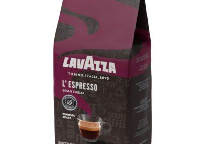 Lavazza Gran Crema Whole Bean Coffee Blend, Medium Espresso Roast, 2.2-Pound Bag