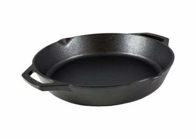 Lodge L10SKL Cast Iron Dual Handle Pan, 12 inch