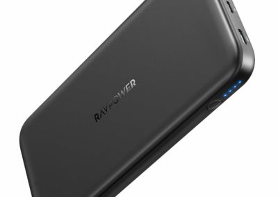 Portable Charger RAVPower 18W PD 10000mAh Portable Charger 10000 USB C Power Bank External Battery Pack for Smartphone Tablet iPhone X/Xs Max/XR, Galaxy S9/S8, iPad Pro 2018 Power Delivery Support