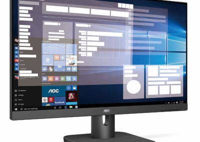 "AOC 24E1Q 24"" IPS LCD Monitor, Black"
