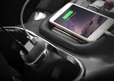 Sabrent 63W 2-Port USB Car Charger [QC 3.0 & USB-PD] UL Certified (CH-PDQC)