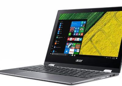 "Acer Spin 1 SP111-32N-P6CV 11.6"" Refurbished Notebook, Intel Pentium, 4GB Memory, Windows 10 (NX.GRMAA.009)"