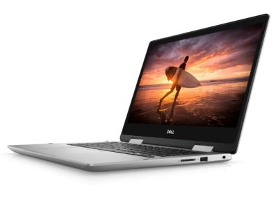 "Dell Inspiron 14 5482 14"" Full HD LCD Touchscreen 2-in-1 Notebook Computer, Intel Core i5-8265U 1.60GHz, 8GB RAM, 1TB HDD, Windows 10 Pro, Silver"