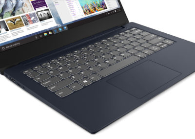 "14"" 1080p Lenovo IdeaPad S340 81N700BDUS Abyss Blue Laptop with 8th Gen Intel Core i5-8265U, 8GB DDR4 Memory, 256GB SSD"