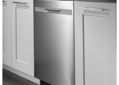 GE GDP615HSMSS 24 in. Top Control Built-In Tall Tub Dishwasher in Stainless Steel with Steam Prewash, 50 dBA