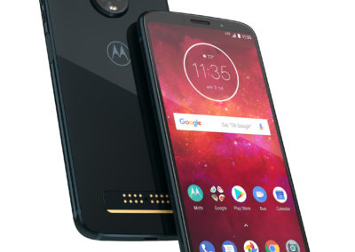"Motorola Moto Z3 Player Unlocked Android Smart Phone with 6"" FHD OLED Display, Snapdragon 636 Processor, 4GB RAM, 32GB Storage PA9S0017US 723755019362 080-06-0023"