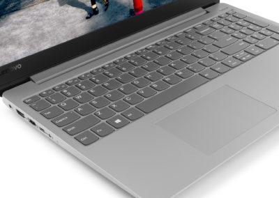"Lenovo Ideapad 330s 15.6"" Laptop, Windows 10, AMD Ryzen 5 2500U Quad-Core Processor, 8GB Memory, 256GB Storage, Platinum Grey - 81FB00HKUS"