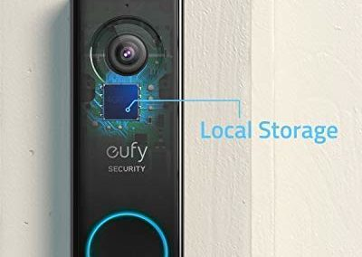 eufy Security Wi-Fi Video Doorbell, 2K Resolution, Real-Time Response, No Monthly Fees, Secure Local Storage, Free Wireless Chime (Requires Existing Doorbell Wires, 16-24 VAC, 30 VA or above)