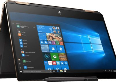"""HP - Spectre x360 2-in-1 13.3"""" Touch-Screen Laptop - Intel Core i7 - 8GB Memory - 256GB Solid State Drive - Ash Silver Model: 13-AP0013DX SKU: 6301161"""