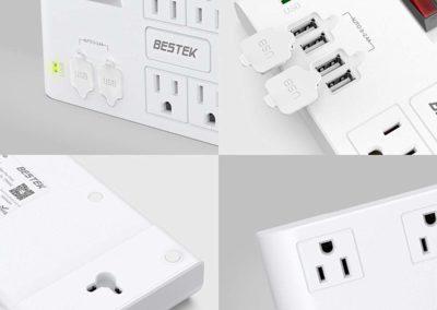 BESTEK 8-Outlet