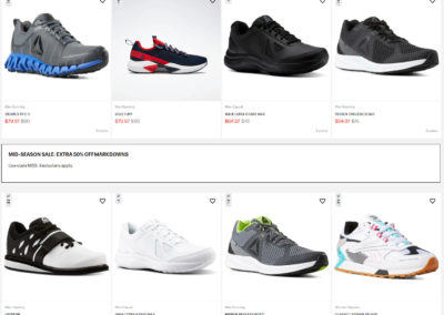 Extra 50% off Sale Items at Reebok, Over 1000 Items Available, Code: MSS