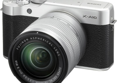 FUJIFILM X-A10 Mirrorless Digital Camera with 16-50mm Lens, Memory Card, and Case Kit FUXA10 600018290