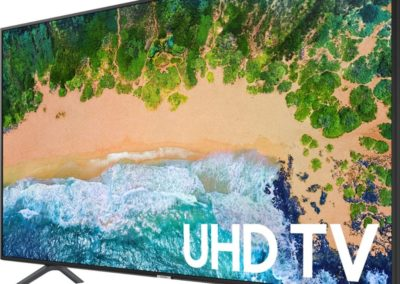 "Samsung - 75"" Class - LED - NU6900 Series - 2160p - Smart - 4K UHD TV with HDR Model: UN75NU6900FXZA SKU: 6290167"