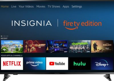 "Insignia™ - 58"" Class - LED - 2160p - Smart - 4K UHD TV with HDR - Fire TV Edition Model: NS-58DF620NA20 SKU: 6355437"