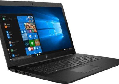 "HP - 17.3"" Laptop - Intel Core i5 - 8GB Memory - 256GB Solid State Drive - Jet Black, Maglia Pattern Model:17-BY1053DX SKU: 6356671"