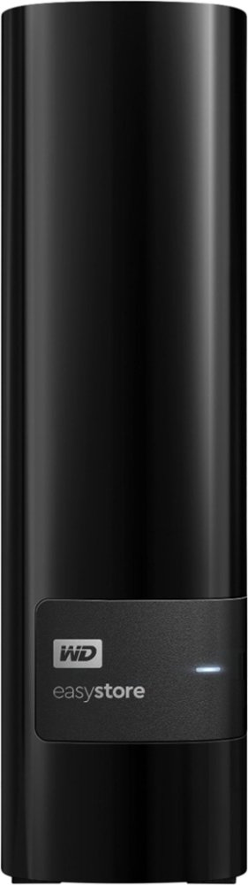 WD - Easystore 12TB External USB 3.0 Hard Drive - Black Model: WDBCKA0120HBK-NESN SKU: 6364259