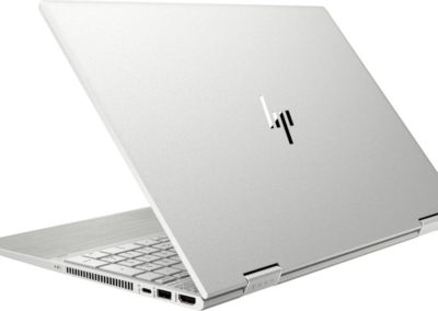 """HP - ENVY x360 2-in-1 15.6"""" Touch-Screen Laptop - Intel Core i7 - 12GB Memory - 512GB SSD + 32GB Optane - Natural Silver, Sandblasted Anodized Finish Model: 15M-DR1012DX SKU: 6364578"""