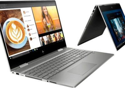 "HP - ENVY x360 2-in-1 15.6"" Touch-Screen Laptop - Intel Core i7 - 12GB Memory - 512GB SSD + 32GB Optane - Natural Silver, Sandblasted Anodized Finish Model: 15M-DR1012DX SKU: 6364578"