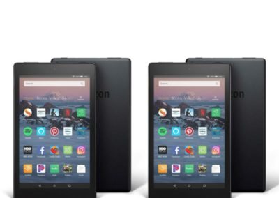 """Amazon Fire HD 8"""" 16GB Tablet 2-pack with Custom Cases & App Vouchers"""