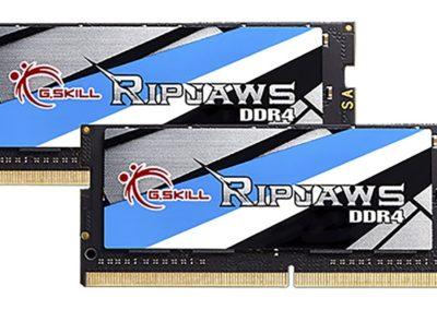 G.SKILL 32GB (2 x 16G) Ripjaws Series DDR4 PC4-19200 2400MHz 260-Pin Laptop Memory Model F4-2400C16D-32GRS