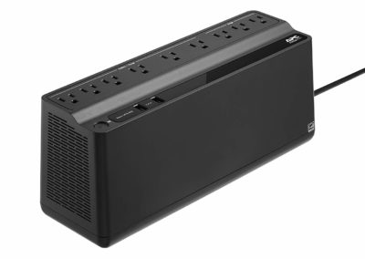 APC UPS Battery Backup & Surge Protector with USB Charger, 850VA Uninterruptible Power Supply (BE850M2)