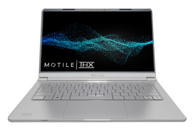 "MOTILE M142-SL 14"" Performance Laptop, FHD, AMD Ryzen 5 with Radeon Vega 8 Graphics, THX Spatial Audio, Tuned by THX display, 8GB RAM, 256GB SSD, HDMI, Front 720p HD IR Camera- Silver"