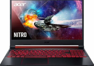 "Acer - Nitro 5 15.6"" Gaming Laptop - Intel Core i5 - 8GB Memory - NVIDIA GeForce GTX 1650 - 1TB Hard Drive + 128GB SSD - Black Model: AN515-54-51M5 SKU: 6344387"