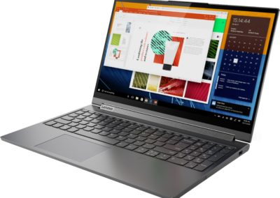 "Lenovo - Yoga C940 2-in-1 14"" Touch-Screen Laptop - Intel Core i7 - 12GB Memory - 512GB Solid State Drive - Iron Gray Model: 81Q9002GUS SKU: 6367799"