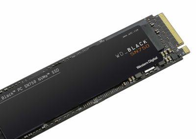 Western Digital WD_Black SN750 1TB NVMe Internal Gaming SSD - Gen3 PCIe, M.2 2280, 3D NAND - WDS100T3X0C