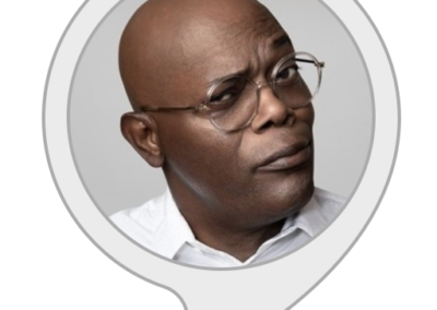 Samuel L. Jackson - celebrity voice for Alexa by Amazon