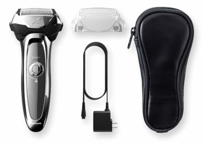 Panasonic Arc5 Electric Razor, Men's 5-blade Cordless with shave sensor technology & Wet/Dry Convenience, ES-LV65-S