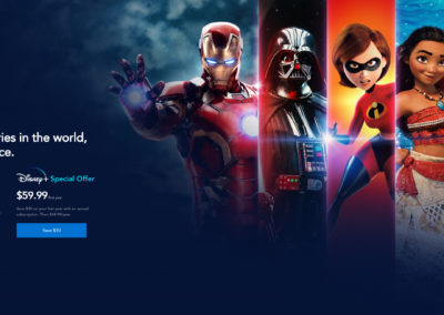 Disney+ Special Offer - The best stories in the world, all in one place