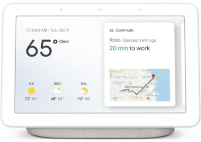 Google - Nest Hub with Google Assistant - Chalk GA00516-US