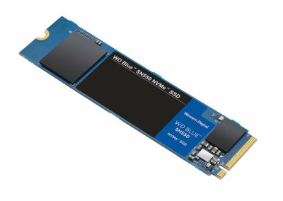 WD Blue SN550 1TB NVMe Internal SSD - Gen3 x4 PCIe 8Gb/s, M.2 2280, 3D NAND, Up to 2,400 MB/s - WDS100T2B0C
