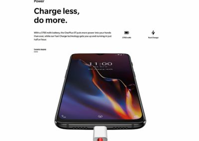 OnePlus 6T T-Mobile Version with 8GB RAM, 128GB Storage