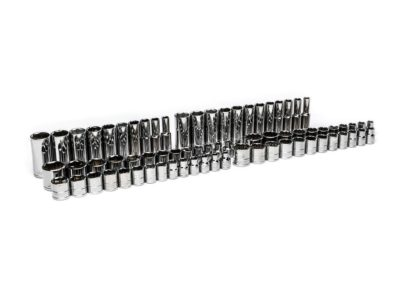 Husky 1/4 in., 3/8 in. and 1/2 in. Drive Socket Set (200-Piece)