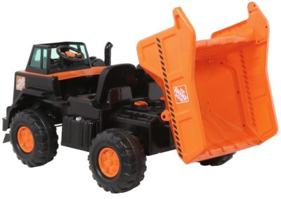 Home Depot 12-Volt Kids Dump Truck Model 8803-33